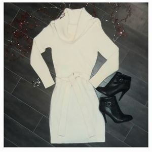 VS Moda International Angora Medium Sweater Dress